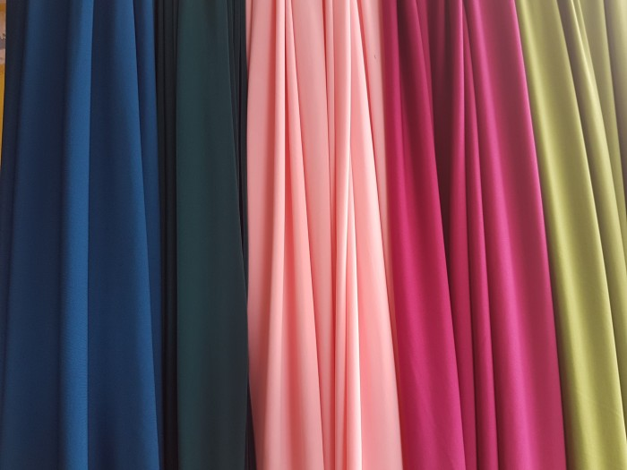 Jenis kain untuk gamis dan jilbab terbaik