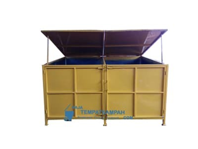 Hasil gambar untuk Kontainer Sampah 10 m3