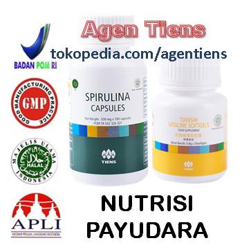 Obat Pembesar Payudara Alami Paket Spirulina Vitaline