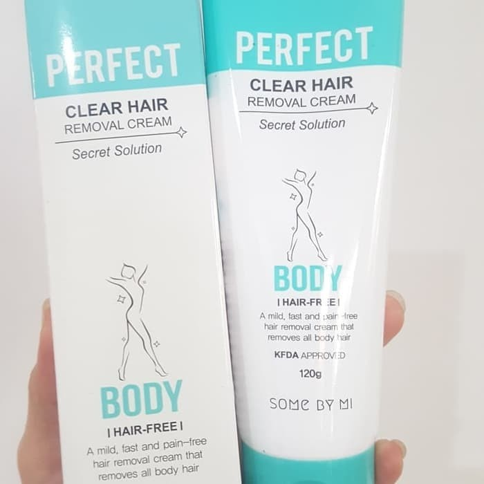Perontok Bulu Some By Mi Perfect Clear Hair Removal Cream G Someby