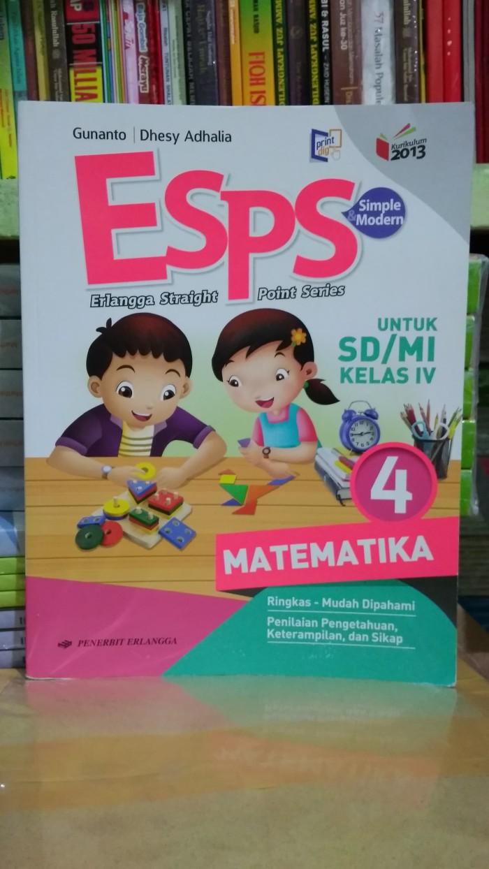 2019 download buku penjaskes kelas 5 penerbit erlangga jual buku sd. Esps Matematika Kelas 4 Pdf - Dunia Sekolah ID