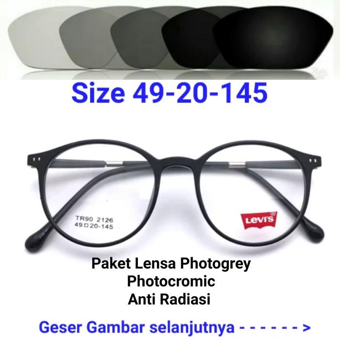 Jual Frame Kacamata Minus Lensa Photochromic Photogrey b04673033c