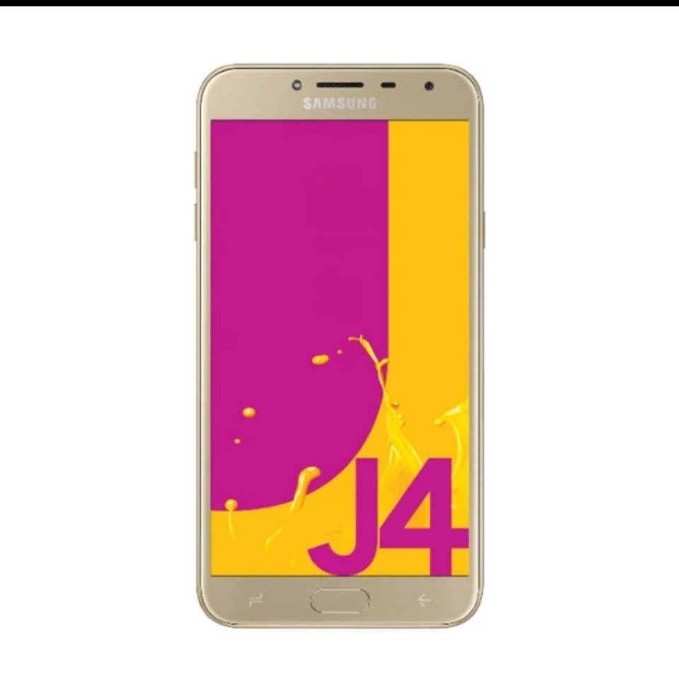 Hasil gambar untuk Samsung Galaxy J4 Smartphone - Gold 32GB - 2GB