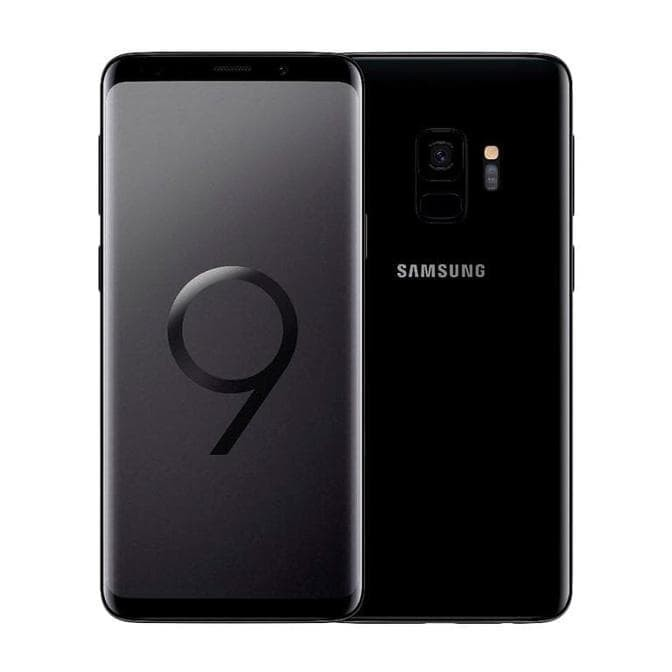 Hasil gambar untuk samsung Galaxy S9 -Midnight Black 4/64GB