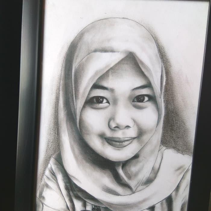 Gambar lukisan wajah cowok Kado Ulang tahun unik