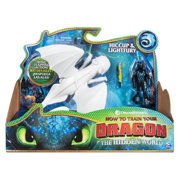 Jual How To Train Your Dragon 3 The Hidden World Hiccup And Lightfurry Jakarta Barat Avengerian Shop Tokopedia