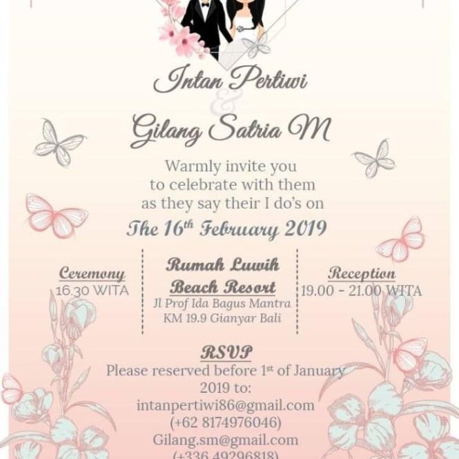 Jual E Invitation Undangan Pernikahan