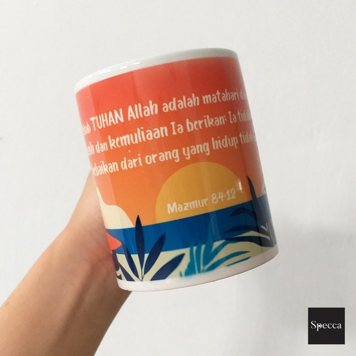 Jual Summer Christian Quotes Coffee Mug Kota Kupang Specca Tokopedia