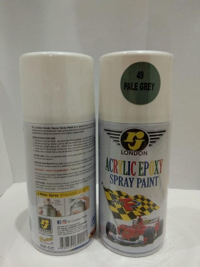 Jual Rj London Spray Paint Cat Semprot Pale Grey 49 300cc Kota Depok Makmur Jaya Motor Depok Tokopedia