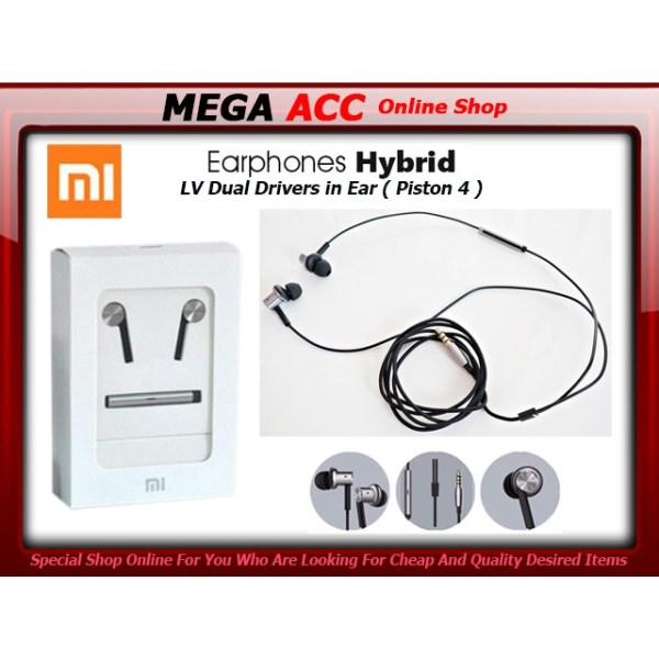 Jual Xiaomi Mi Iv Hybrid Dual Drivers In-ear Headset ...