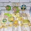 Jual Topper Cake Selamat Idul Fitri Hiasan Kue Lebaran Cake