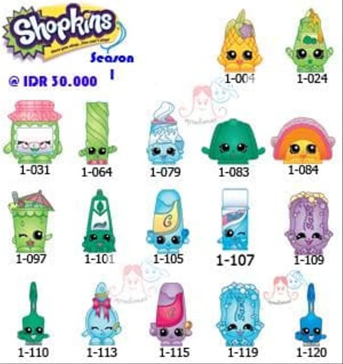 Jual Dijual Sale Shopkins Season 1 Common Idr 30 000 Limited Jakarta Barat Alfastores004 Tokopedia