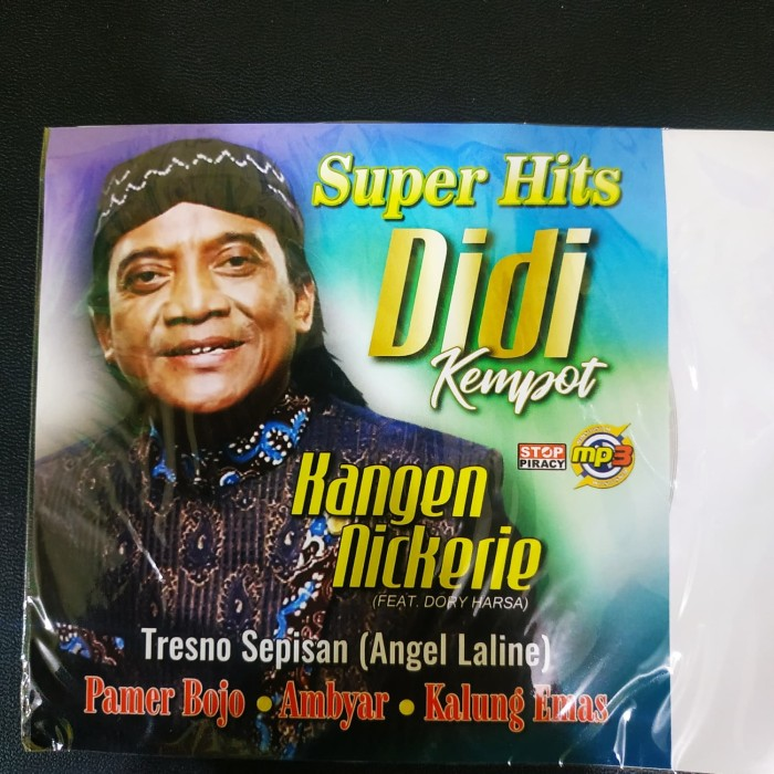 Jual Mp3 Lagu Didi Kempot Super Hits Pamer Bojo Ambyar Full Album