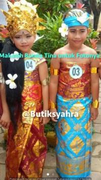 Pakaian Adat Bali Anak2