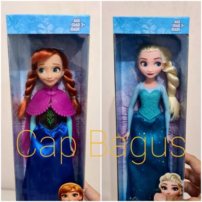 Jual Boneka Frozen Elsa Anna Original Hasbro Barbie Frozen 2 Ana Olaf Elsa Kota Cirebon Capbagus Tokopedia