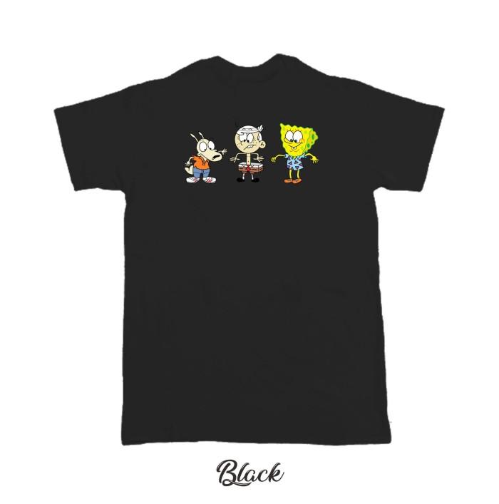 Jual Kaos Baju T Shirt Distro Clipart House Spongebobs L1868 Kota Semarang Infinity Case Store Tokopedia