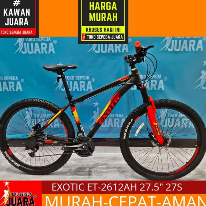 Harga Sepeda Exotic Mtb 2612 - Sepeda Lipat