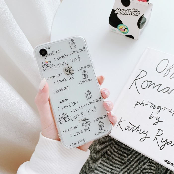 Jual 2020 Cute Fashion Cartoon Love Hug Bears Case For Iphone 11 11promax Jakarta Barat Agen Jam Tangan Unik Tokopedia