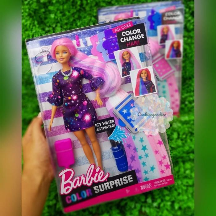 Jual Barbie Color Surprise Color Shifters Hair Kota Medan Cookieegoodiee Tokopedia