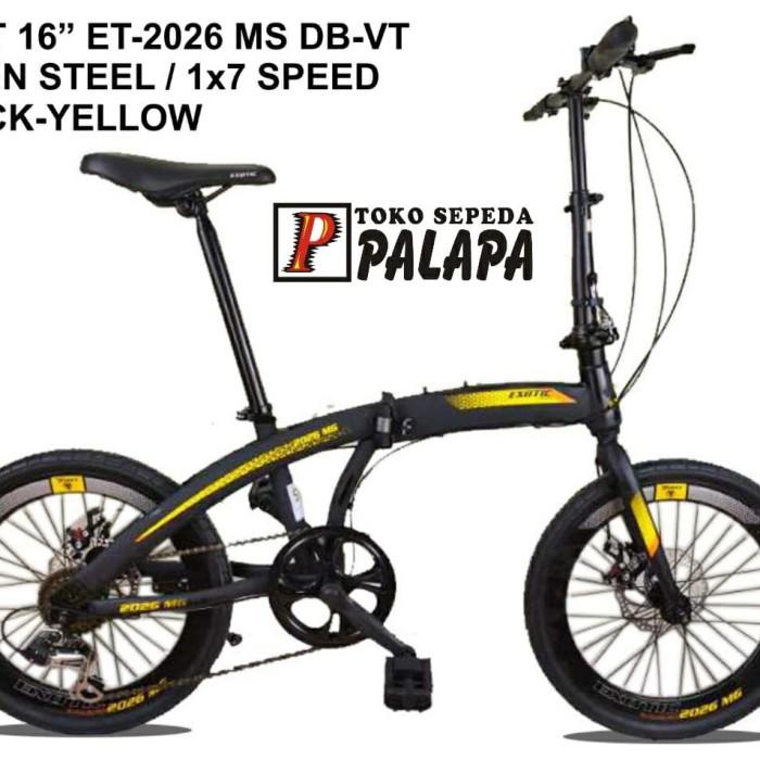Harga Sepeda Lipat Seli 16 - SEPEDAMUR