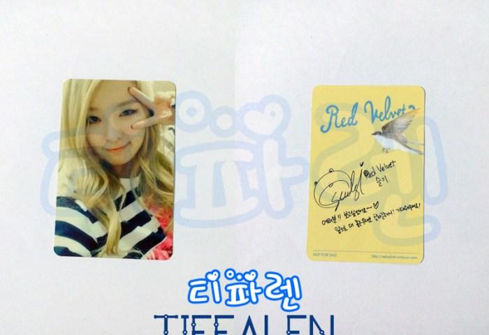 Jual Red Velvet Seulgi Ice Cream Cake Photocard Kpop Tiffalen