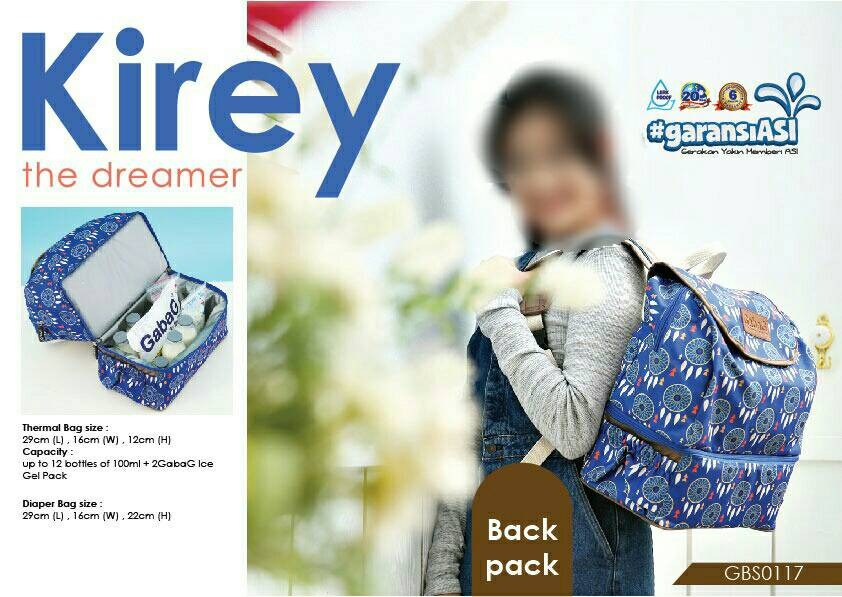 Gabag Cooler Bag - Kirey Backpack series | Tas ASi Branded