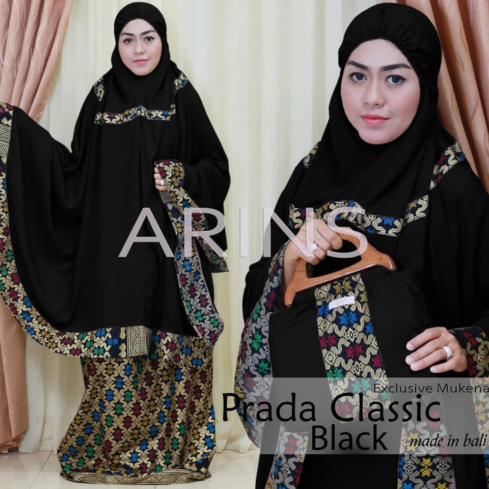 Mukena Bali Exclusive Songket Prada