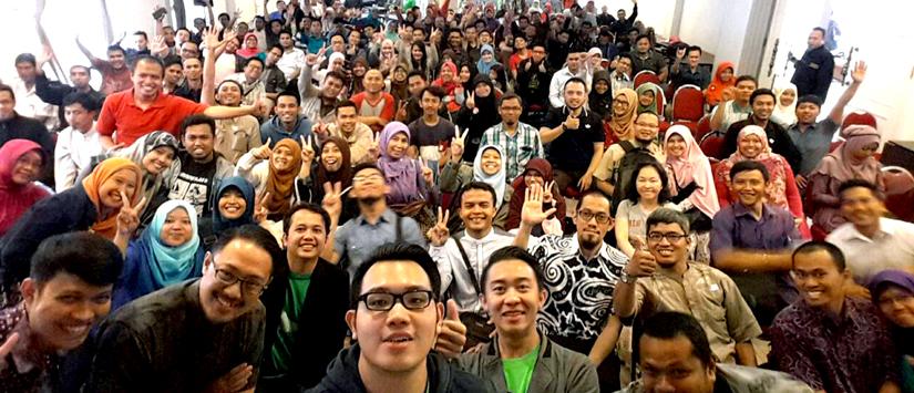 Tokopedia Meet Up : Semangat Membara Muda Juara Bandung Bersama Tokopedia