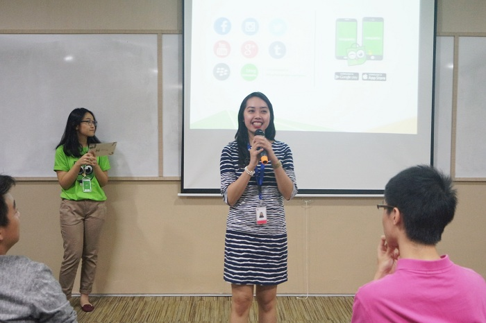 tokopedia meet up di universitas podomoro