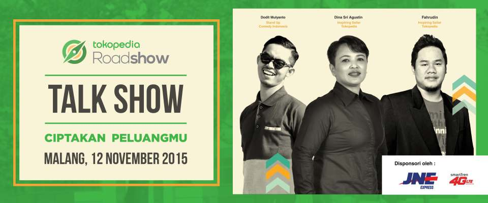Tokopedia Roadshow Malang