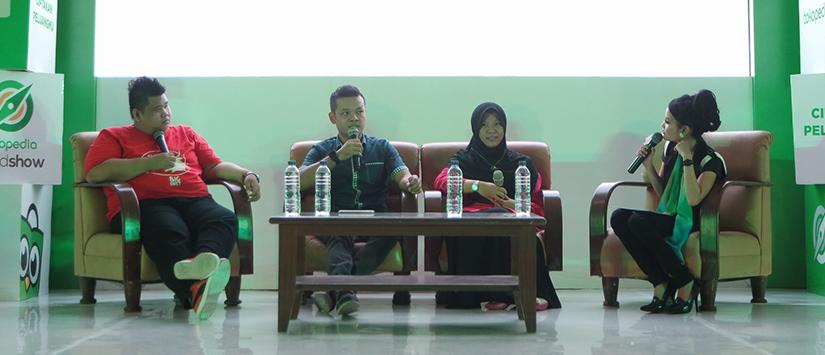 Tokopedia Roadshow Medan 2015 : Masa Lalu Pasti Berlalu, Bertahanlah, Ciptakan Peluangmu dan Jadilah Pemenang!