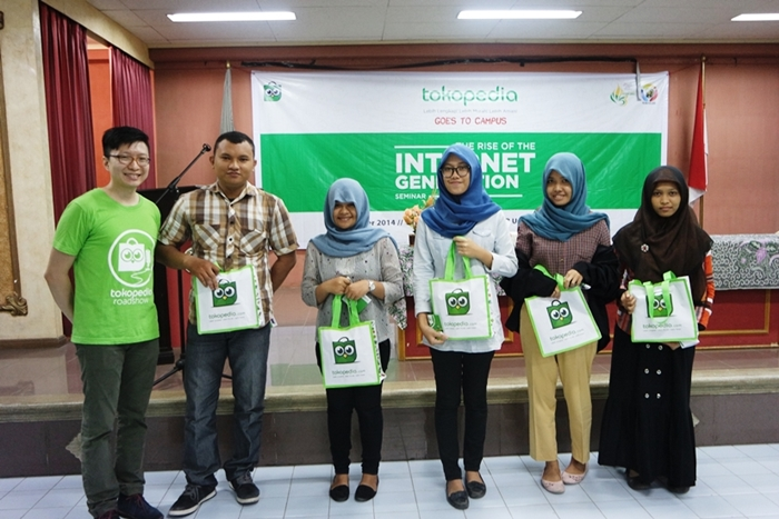 Tokopedia Roadshow #8: Tokopedia Berbagi Ilmu tentang E-Commerce kepada Mahasiswa USU Medan