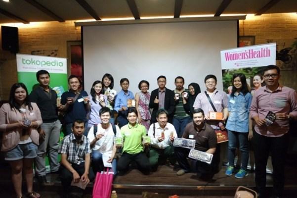 Tokopedia Temu Toppers Bersama Women's Health Indonesia