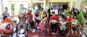 Tokopedia CSR : Berbagi Bersama Komunitas Difabel, Yayasan Cheshire Indonesia