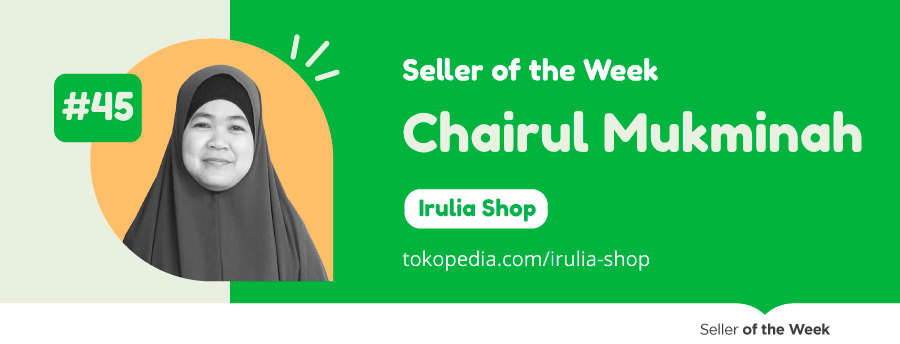 seller of the week chairul mukminah