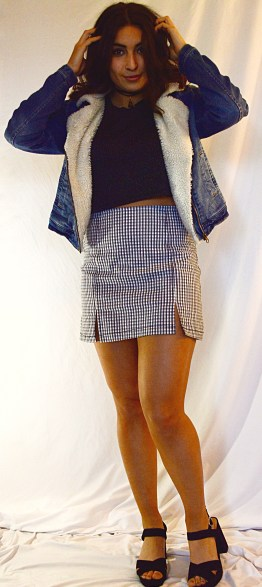Skirt: Design Lab Jacket: Target