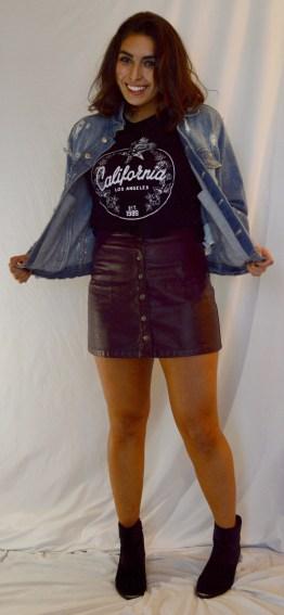 Jacket: Zara Top: Forever 21 Skirt: Forever 21