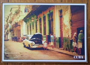 image of an old car in Havana
