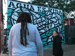 Mas Paz mural at The Fridge