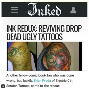 Thanks to Inkedmag.com for the mention