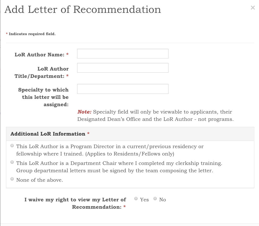 how to ask and upload a letter of recommendation