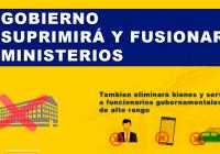 fusion y eliminacion de ministerios