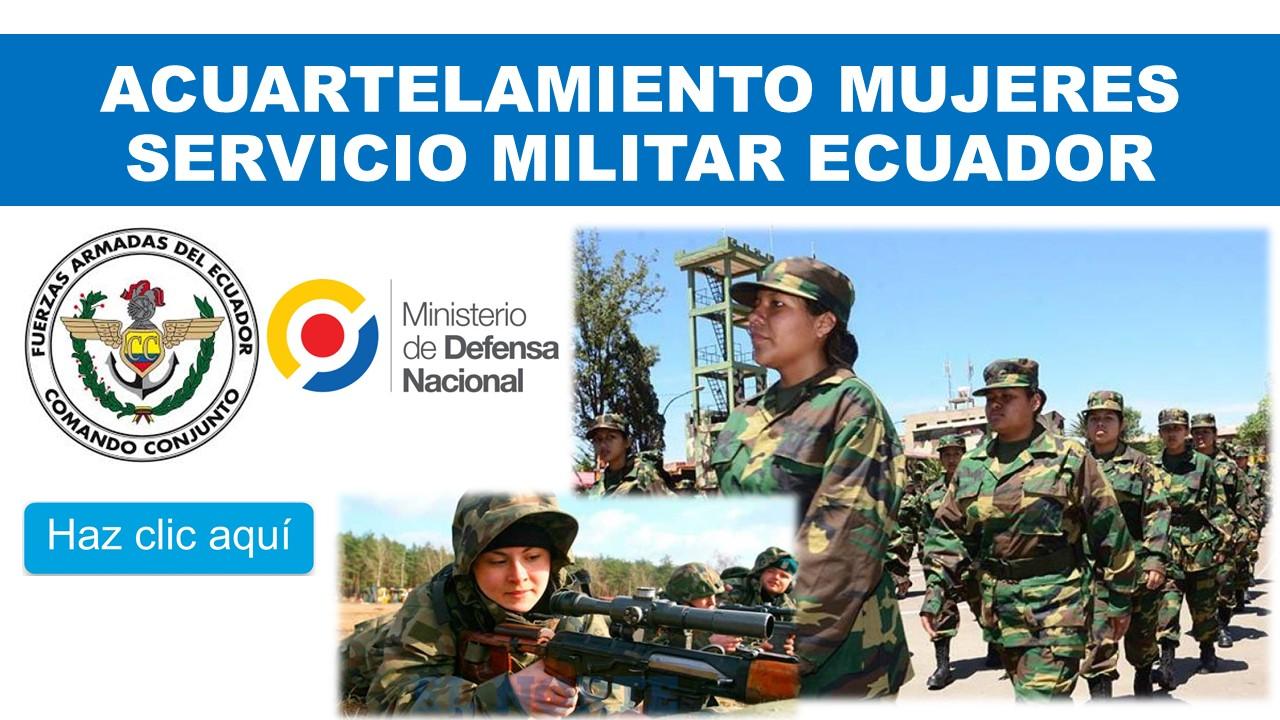 Acuartelamiento de Mujeres Servicio Militar Ecuador