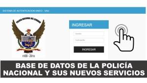 Base de Datos de la Policía Nacional Ecuador