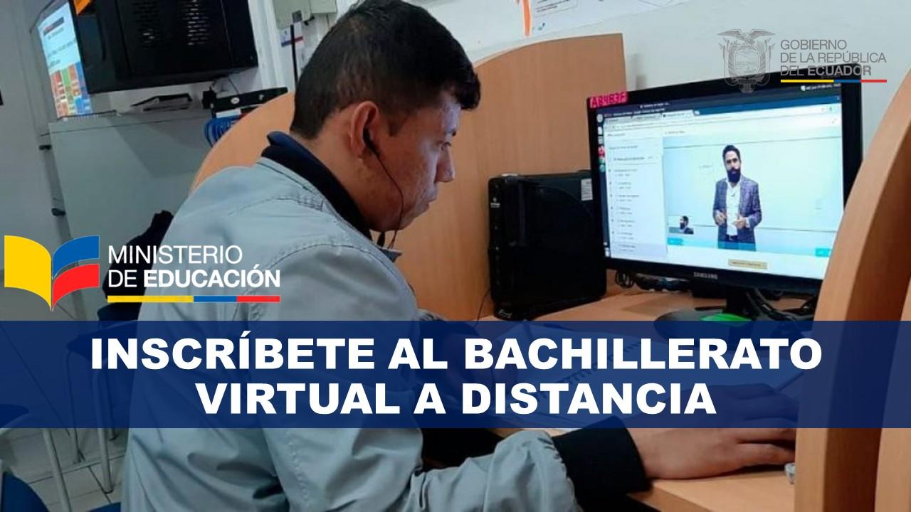Bachillerato Virtual a Distancia Inscripción