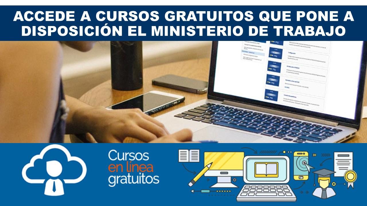 Cursos gratuitos del Ministerio de Trabajo Ecuador