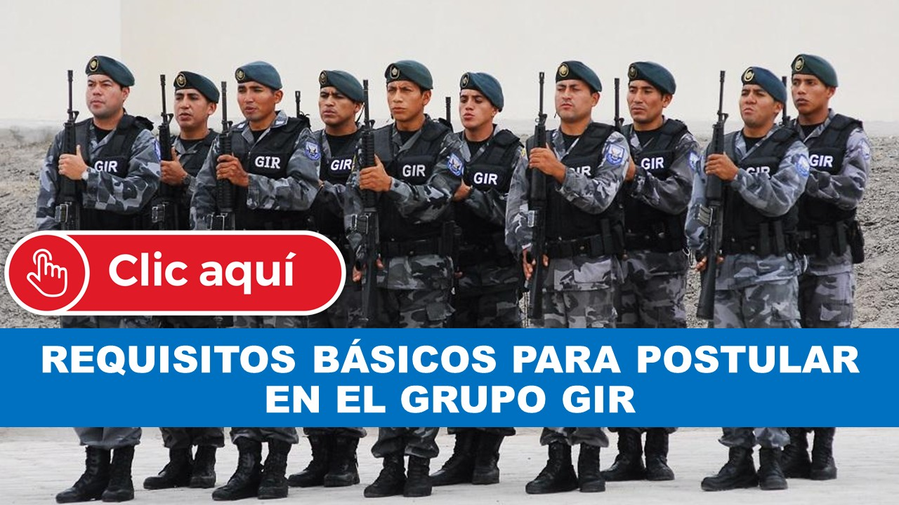 Requisitos para ingresar al GIR Ecuador