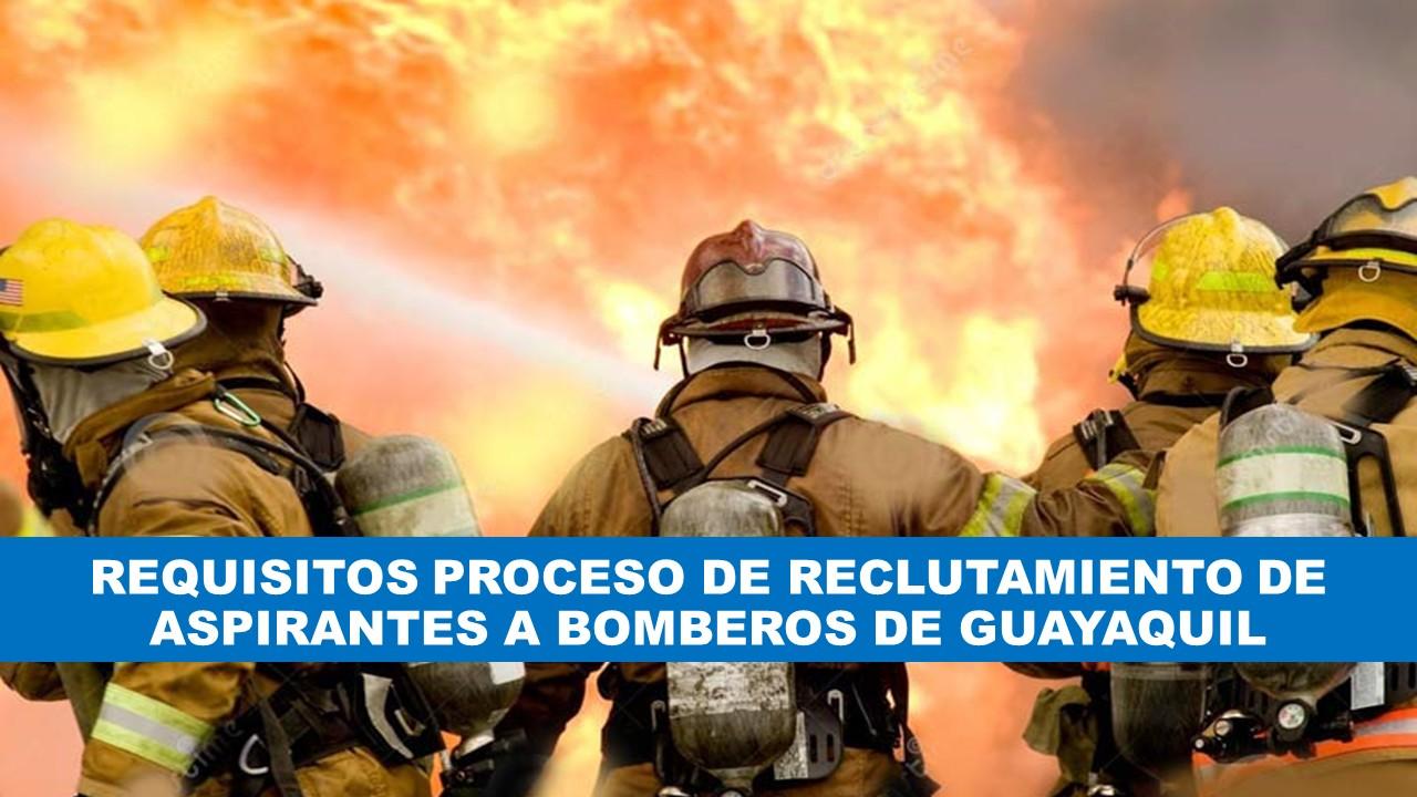 Reclutamiento de Bomberos en Ecuador