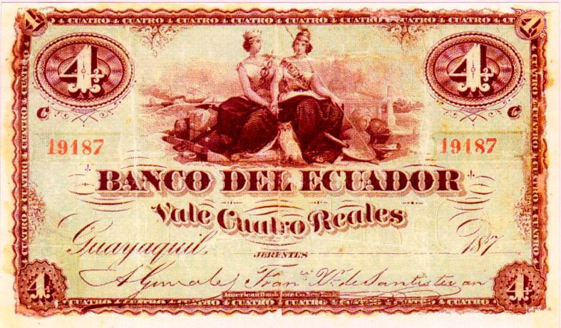 Monedas y Billetes del Ecuador – HISTORIA