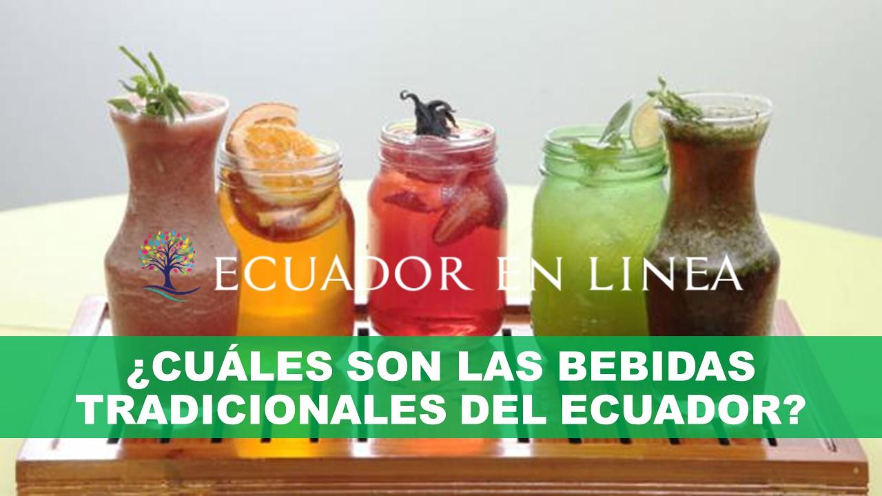 ¿Cuáles son las bebidas tradicionales del Ecuador?